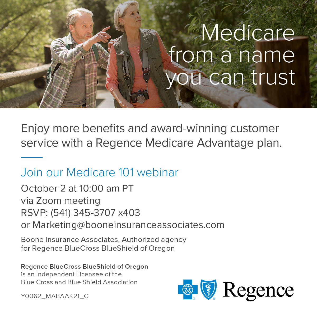 Join Our Medicare 101 Webinar